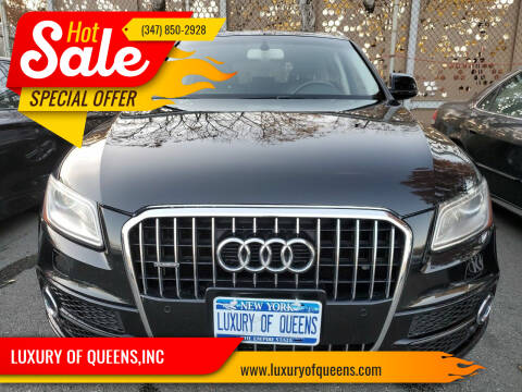 2017 Audi Q5 for sale at LUXURY OF QUEENS,INC in Long Island City NY