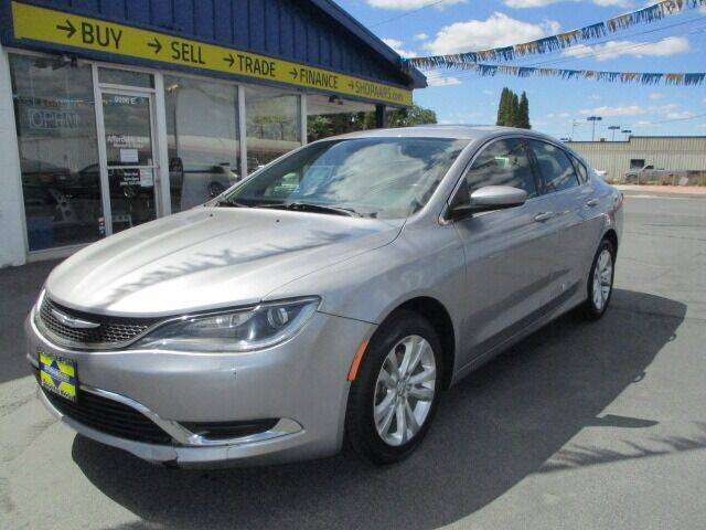 2015 Chrysler 200 for sale at Affordable Auto Rental & Sales in Spokane Valley WA