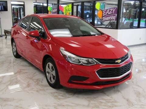 2017 Chevrolet Cruze for sale at Dealer One Auto Credit in Oklahoma City OK