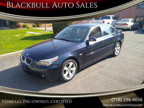2006 BMW 5 Series for sale at Blackbull Auto Sales in Ozone Park NY