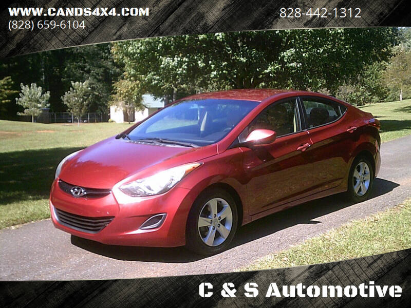 2013 Hyundai Elantra for sale at C & S Automotive in Nebo NC