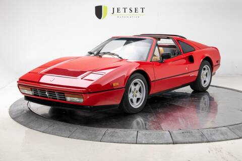 1987 Ferrari 328 GTS for sale at Jetset Automotive in Cedar Rapids IA