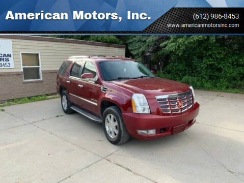 2010 Cadillac Escalade for sale at American Motors, Inc. in Farmington MN