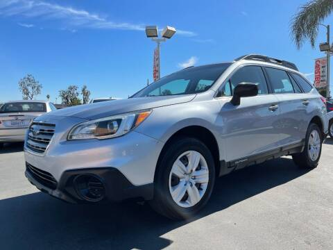 2015 Subaru Outback for sale at CARSTER in Huntington Beach CA