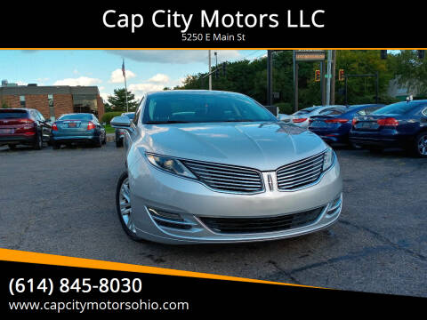 2015 Lincoln MKZ for sale at Cap City Motors LLC in Columbus OH