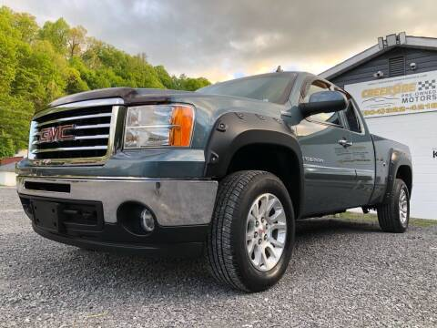 2009 GMC Sierra 1500 for sale at Creekside PreOwned Motors LLC in Morgantown WV