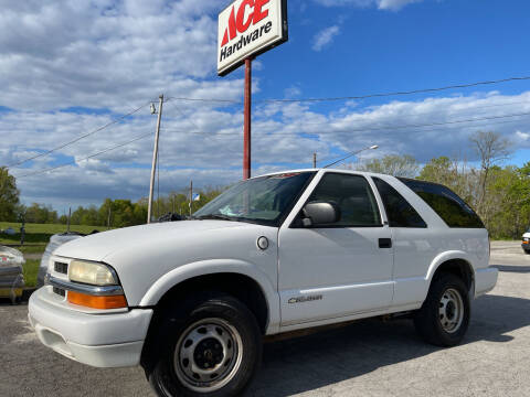 2003 Chevrolet Blazer for sale at ACE HARDWARE OF ELLSWORTH dba ACE EQUIPMENT in Canfield OH