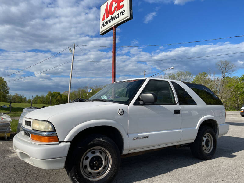 2003 Chevrolet Blazer for sale in Canfield, OH