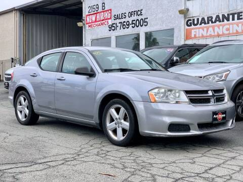 2013 Dodge Avenger for sale at Auto Source in Banning CA