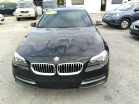 2014 BMW 5 Series for sale at P S AUTO ENTERPRISES INC in Miramar FL