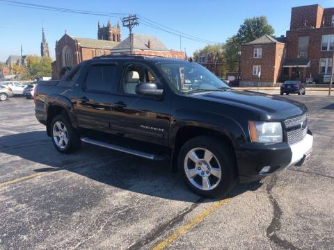 2012 Chevrolet Avalanche for sale at DC Auto Sales Inc in Saint Louis MO