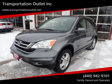 2011 Honda CR-V for sale at Transportation Outlet Inc in Eastlake OH