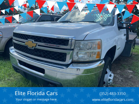 2014 Chevrolet Silverado 3500HD for sale at Elite Florida Cars in Tavares FL