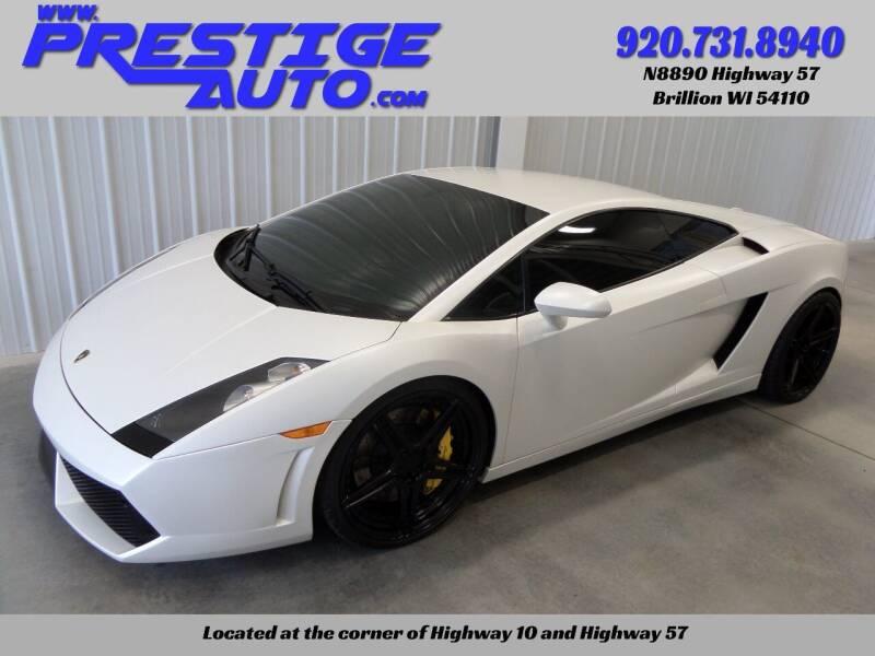 2006 Lamborghini Gallardo for sale at Prestige Auto Sales in Brillion WI