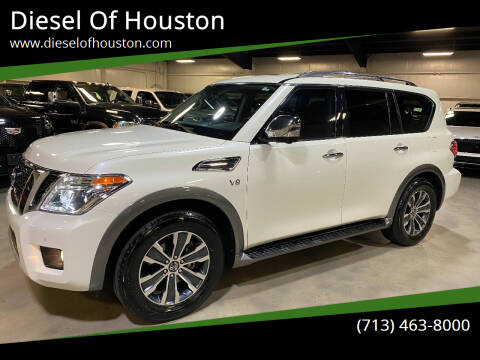 2018 Nissan Armada for sale at Diesel Of Houston in Houston TX