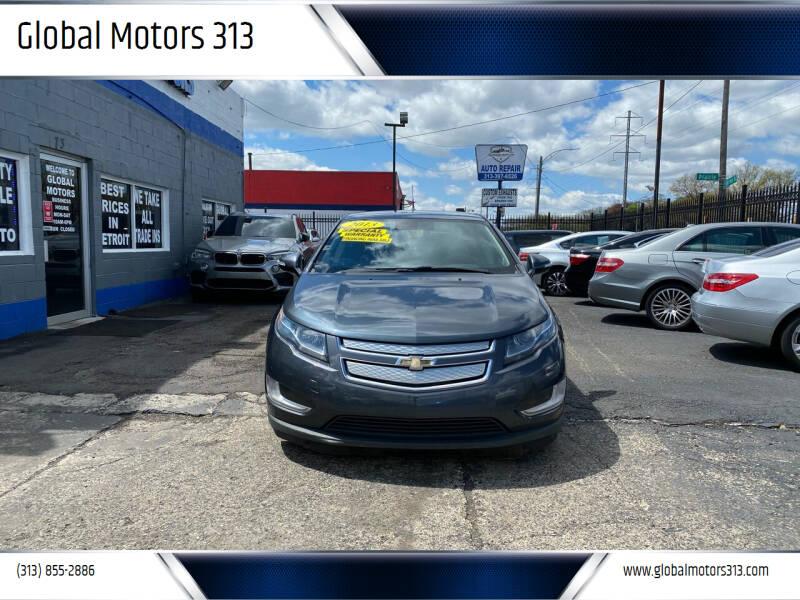 2013 Chevrolet Volt for sale at Global Motors 313 in Detroit MI