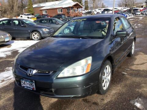 2005 Honda Accord for sale at Sparkle Auto Sales in Maplewood MN
