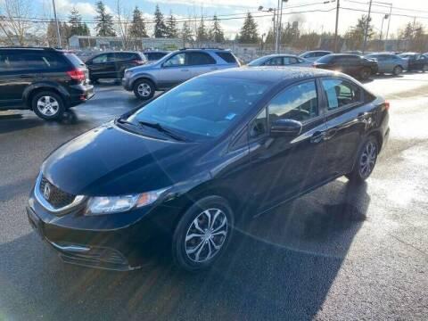 2015 Honda Civic for sale at TacomaAutoLoans.com in Tacoma WA