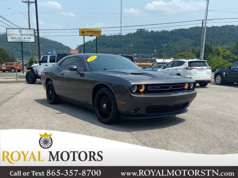 2016 Dodge Challenger for sale at ROYAL MOTORS LLC in Knoxville TN
