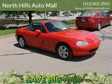 1999 Mazda MX-5 Miata for sale at North Hills Auto Mall in Pittsburgh PA