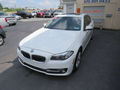 2016 BMW 5 Series for sale at Small Town Auto Sales in Hazleton PA