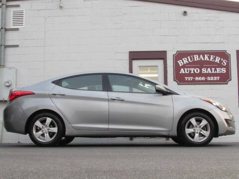 2013 Hyundai Elantra for sale at Brubakers Auto Sales in Myerstown PA
