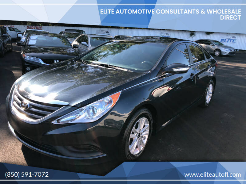 2014 Hyundai Sonata for sale at Elite Automotive Consultants & Wholesale Direct in Tallahassee FL
