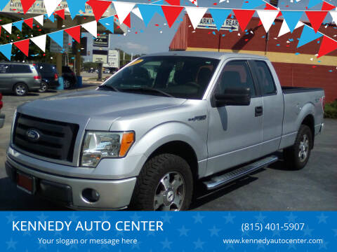 2010 Ford F-150 for sale at KENNEDY AUTO CENTER in Bradley IL