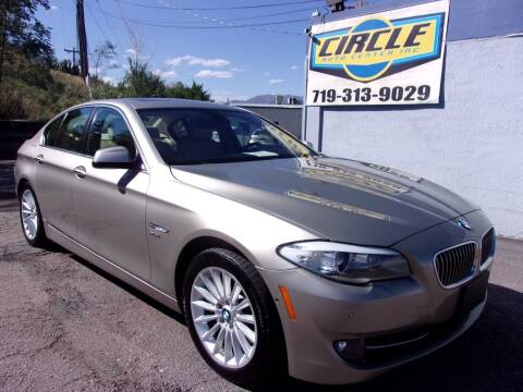 2011 BMW 5 Series for sale at Circle Auto Center in Colorado Springs CO