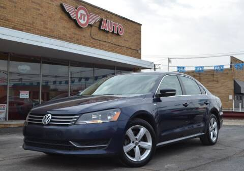 2014 Volkswagen Passat for sale at JT AUTO in Parma OH