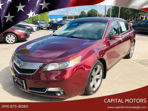 2012 Acura TL for sale at Capital Motors in Raleigh NC