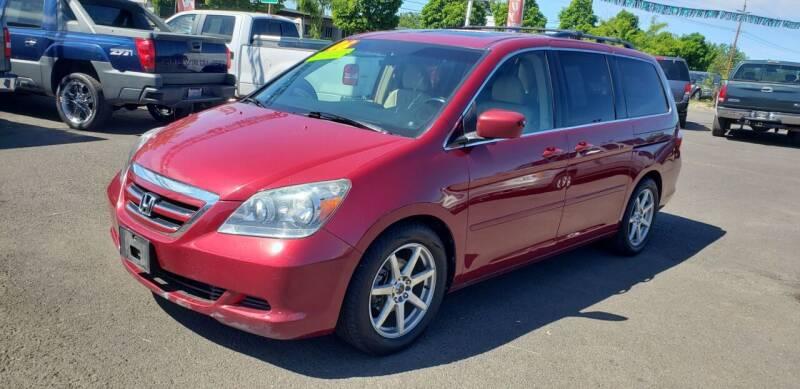 2006 Honda Odyssey for sale at Persian Motors in Cornelius OR