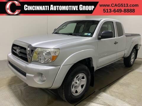 2007 Toyota Tacoma for sale at Cincinnati Automotive Group in Lebanon OH
