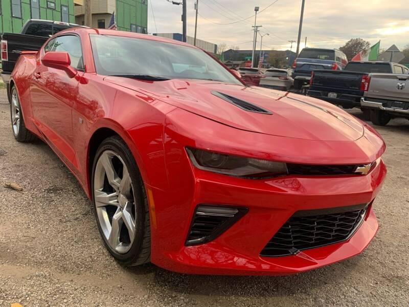 2018 Chevrolet Camaro for sale at LLANOS AUTO SALES LLC - LEDBETTER in Dallas TX