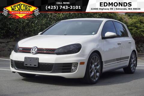 2013 Volkswagen GTI for sale at West Coast Auto Works in Edmonds WA