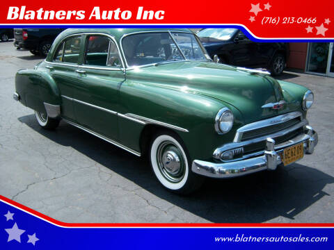 1951 Chevrolet 210 for sale at Blatners Auto Inc in North Tonawanda NY