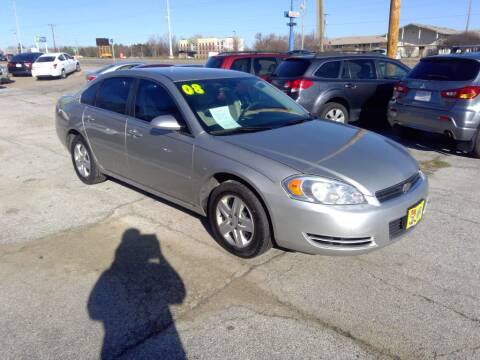 2008 Chevrolet Impala for sale at Regency Motors Inc in Davenport IA