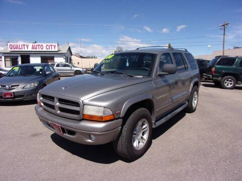 2000 Dodge Durango for sale at Quality Auto City Inc. in Laramie WY