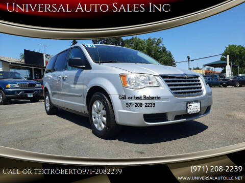 2010 Chrysler Town and Country for sale at Universal Auto Sales Inc in Salem OR