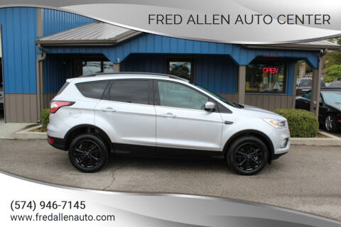 2017 Ford Escape for sale at Fred Allen Auto Center in Winamac IN