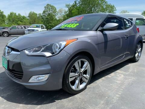 2016 Hyundai Veloster for sale at FREDDY'S BIG LOT in Delaware OH