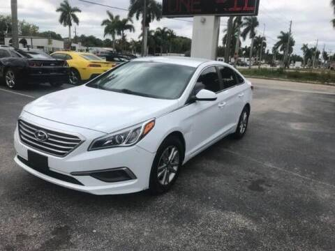 2016 Hyundai Sonata for sale at Denny's Auto Sales in Fort Myers FL
