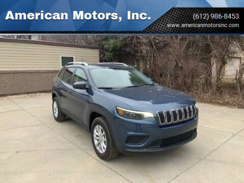 2020 Jeep Cherokee for sale at American Motors, Inc. in Farmington MN