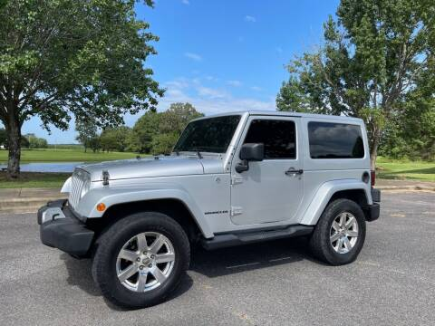 2012 Jeep Wrangler for sale at LAMB MOTORS INC in Hamilton AL
