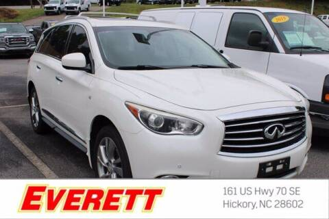 2015 Infiniti QX60 for sale at Everett Chevrolet Buick GMC in Hickory NC