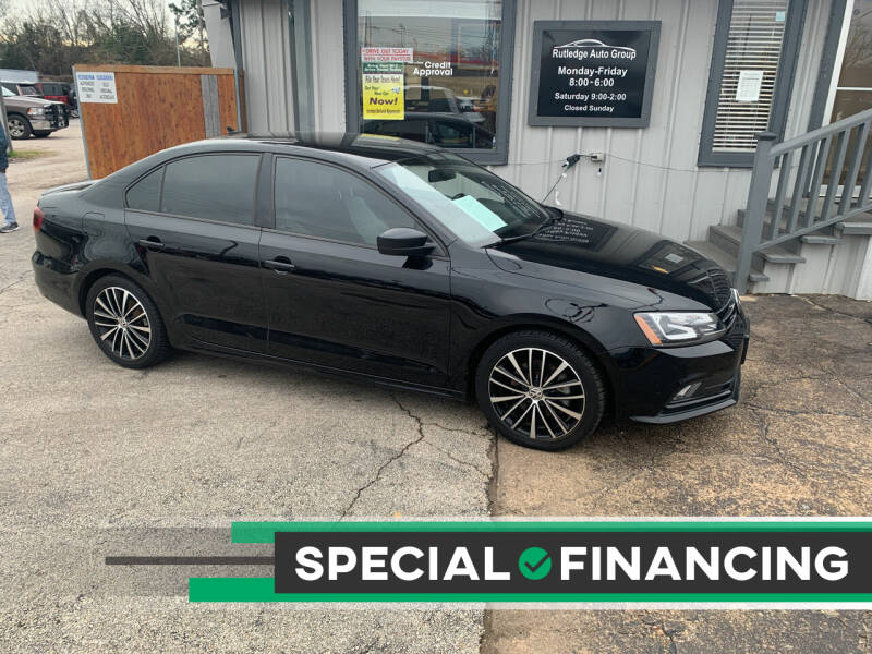 2016 Volkswagen Jetta for sale at Rutledge Auto Group in Palestine TX