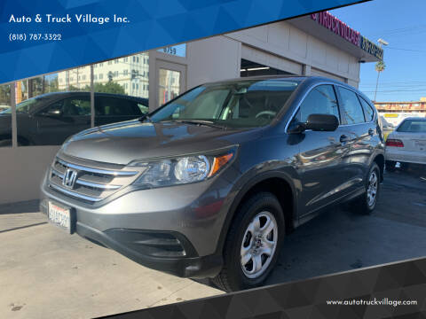 2012 Honda CR-V for sale at Auto & Truck Village Inc. in Van Nuys CA