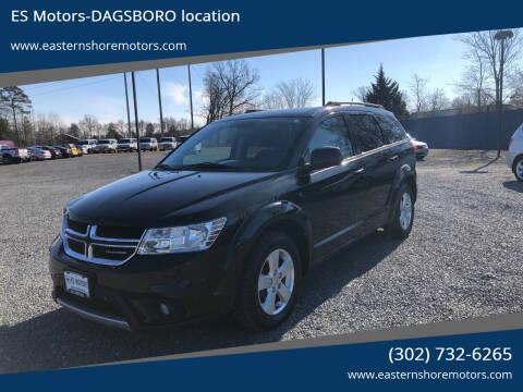 2012 Dodge Journey for sale at ES Motors-DAGSBORO location in Dagsboro DE