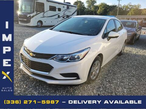 2017 Chevrolet Cruze for sale at Impex Auto Sales in Greensboro NC