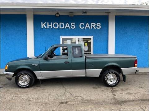 1995 Ford Ranger for sale at Khodas Cars in Gilroy CA